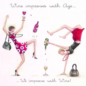 Wine Improves With Age
