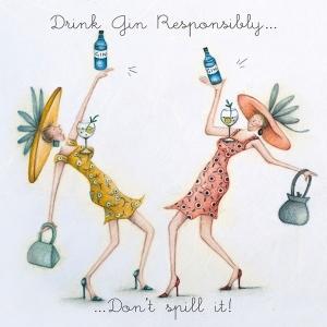 Drink Gin Responsibly