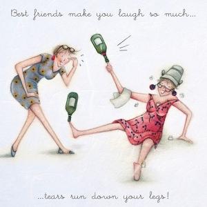 Best Friends Make You Laugh