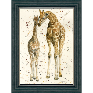 Sig Frame Mothers Love Rect Charcoal