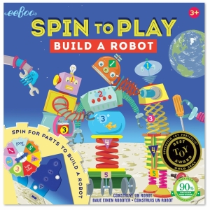 Build A Robot Spinning Game