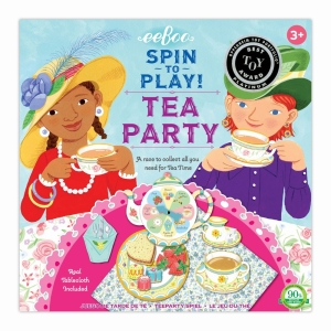 Tea Party Spinning Game