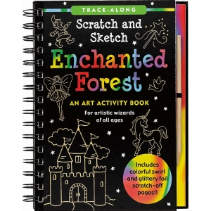 Scratch And Sketch Enchanted Forest