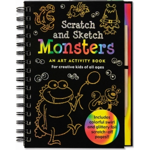 Scratch And Sketch Monsters