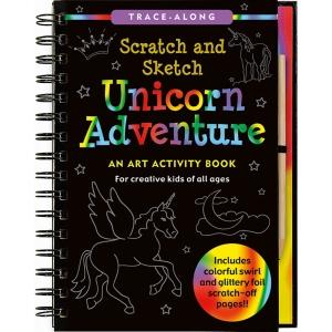 Scratch And Sketch Unicorn Adventure