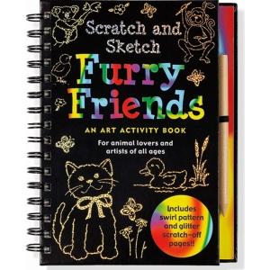 Scratch And Sketch Furry Friends