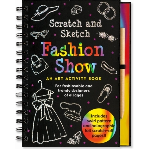 Scratch And Sketch Fashion Show