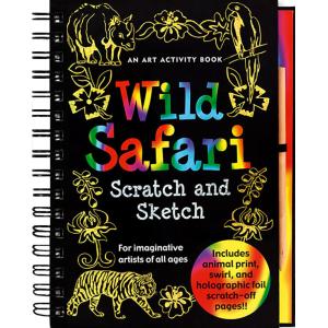 Scratch And Sketch Wild Safari