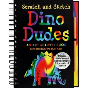 Scratch And Sketch Dino Dudes