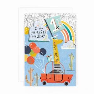 Hotchpotch Kids Sticker Card Age 1 Boy