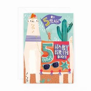 Hotchpotch Kids Sticker Card Age 5 Boy
