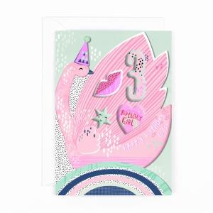 Hotchpotch Kids Sticker Card Age 3 Girl