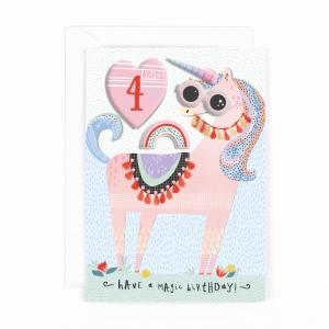 Hotchpotch Kids Sticker Card Age 4 Girl