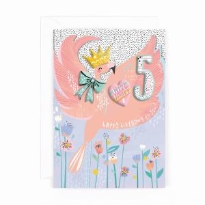 Hotchpotch Kids Sticker Card Age 5 Girl