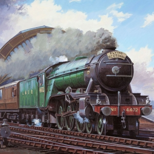 Noise Card Flying Scotsman