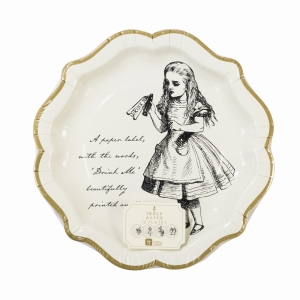 Truly Alice Plate 12Pk
