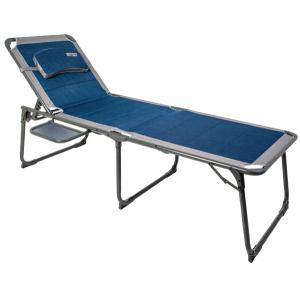 Ragley Pro Lounger Sun Bed Blue