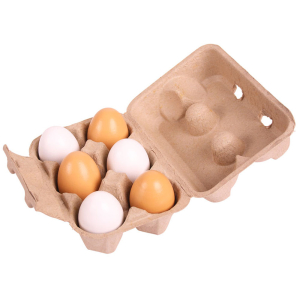 6 Eggs In Carton