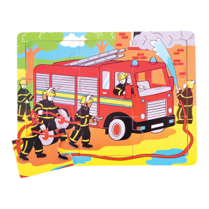Fire Engine Tray Puzzle