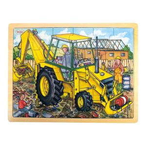 Puzzle Tray Digger 24 Pieces