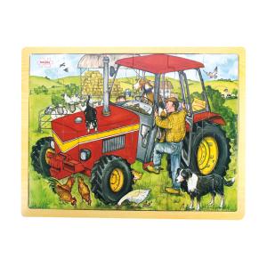 Puzzle Tray Tractor 24 Pieces