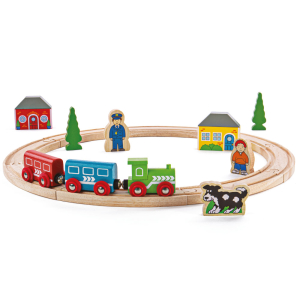 Bigjigs Rail My First Train Set 20Pc