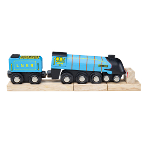 Bigjigs Rail Heritage Mallard Train