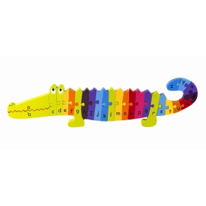 Alphabet Crocodile Puzzle
