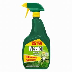 Weedol Lawn Weedkiller Rtu 800ml +25% Free