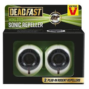 Deadfast Mini Pro Sonic Repeller Twin Pack