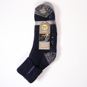 Men's Heat Holder Lounge Socks Navy