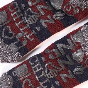 Men's Heat Holder Lounge Slipper Socks Navy
