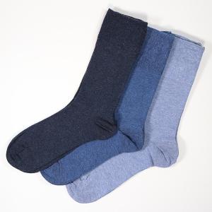 Men's Gentle Grip 3Pack Diabetic Socks Blue
