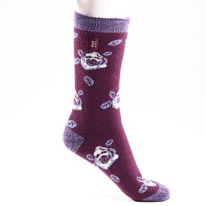 Ladies Heat Holder Lite Socks Purple