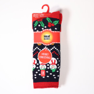 Men's Christmas Heat Holder Lite Socks