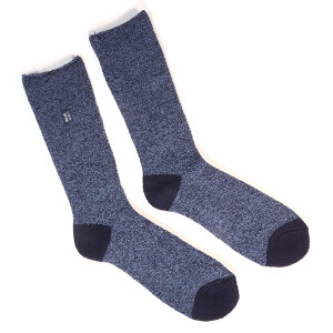 Men's Single Lite Heat Holder Socks Twist Navy