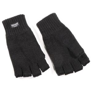 Men's Fingerless Thinsulate Glove Black