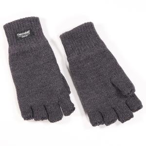 Men's Fingerless Thinsulate Glove Charcoal