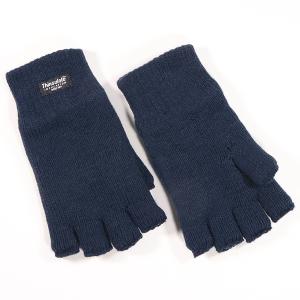 Men's Fingerless Thinsulate Glove Navy