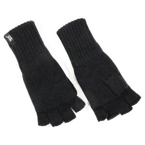 Men's Fingerless Glove Black