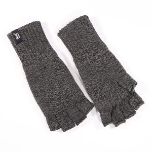 Men's Fingerless Glove Charcoal