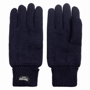 Men's Knitted Thinsulate Glove Navy