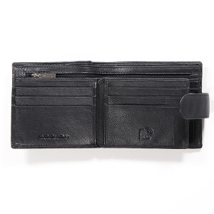 Mens Classic Leather Wallet Black