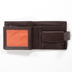 Mens Classic Leather Wallet Brown