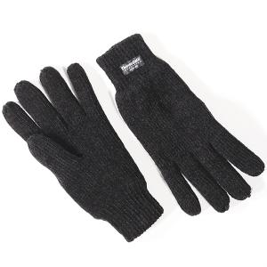 Ladies Chenille Thinsulate Glove Black