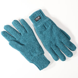 Ladies Chenille Thinsulate Glove Teal