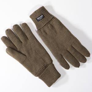 Men's Knitted Thinsulate Glove Khaki