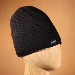Men's Waterproof Thinsulate Beanie Hat Black