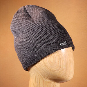 Men's Waterproof Thinsulate Beanie Hat Charcoal