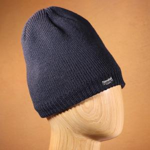 Men's Waterproof Thinsulate Beanie Hat Navy
